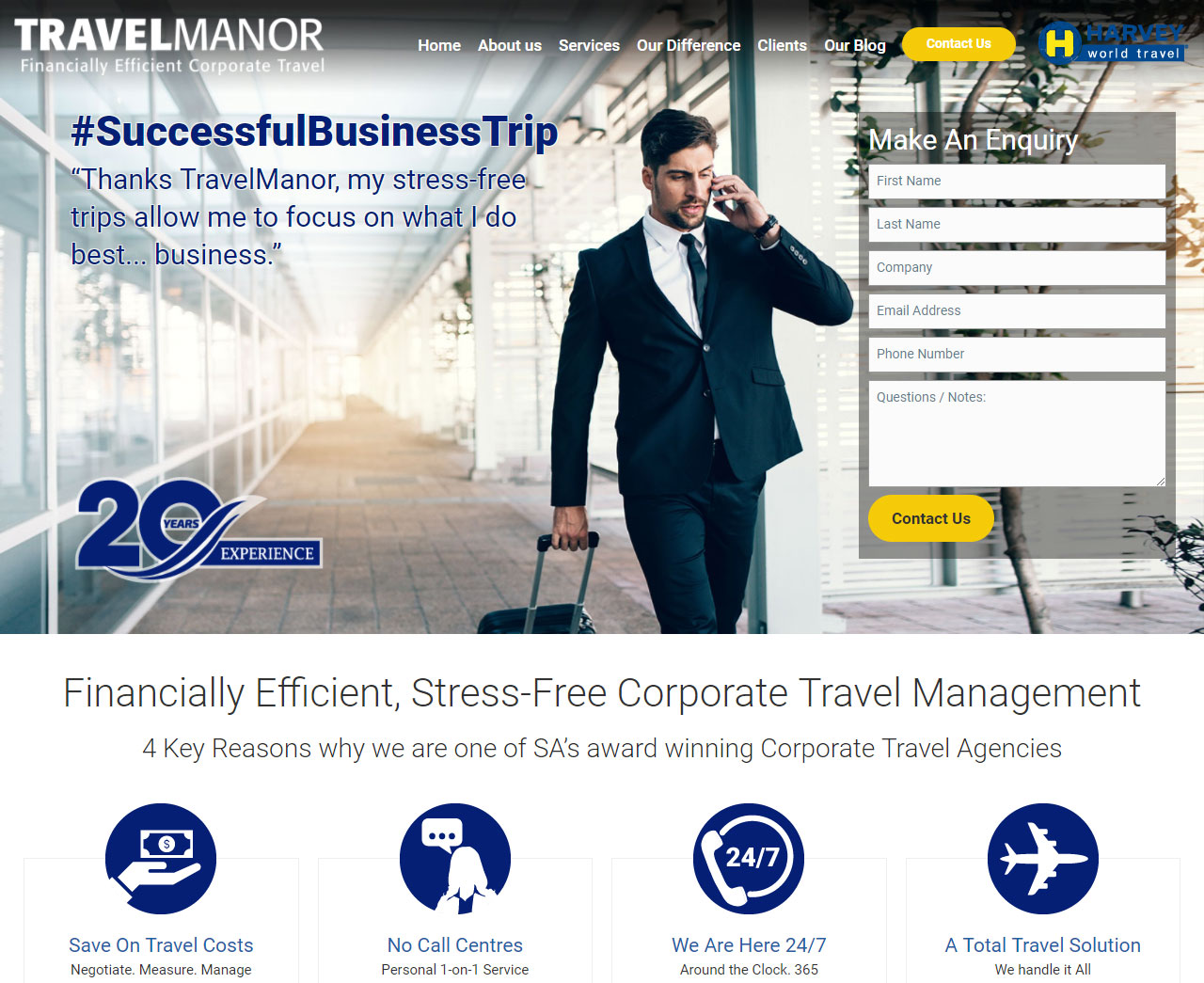 TravelManor - Corporate Travel Agency