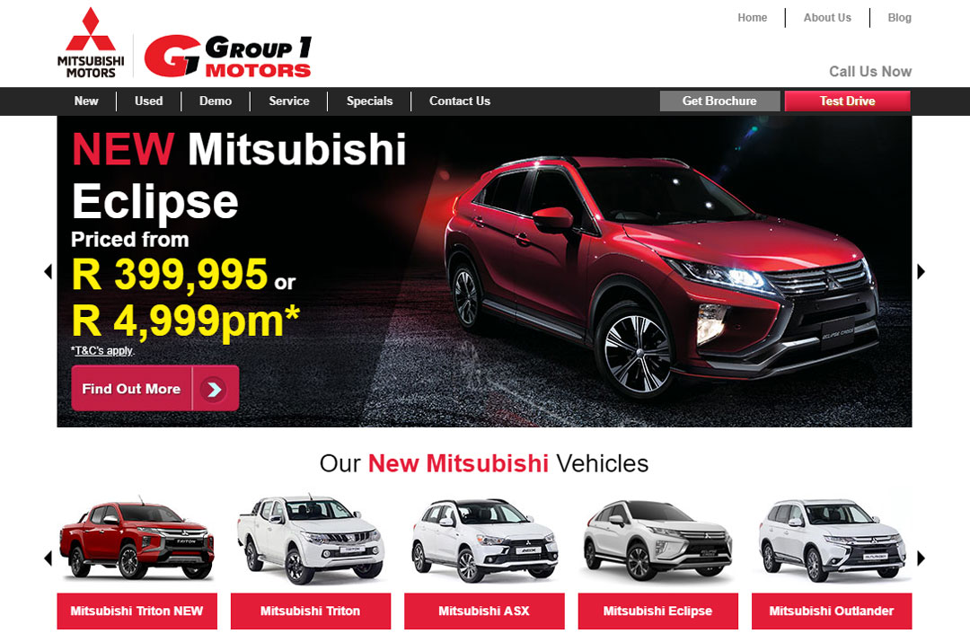The Digital Makeover of Group 1 Mitsubishi